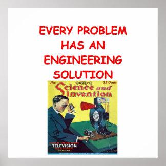 engineering poster
