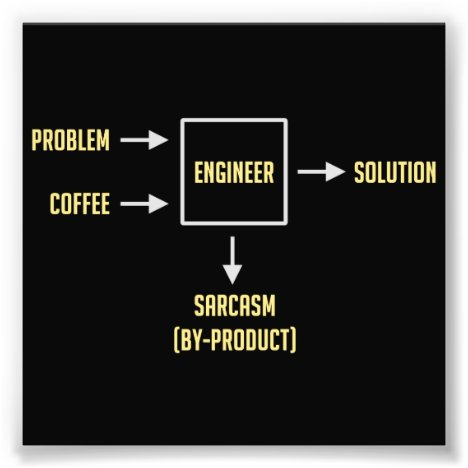 Engineering Sarcasm By-product Photo Print