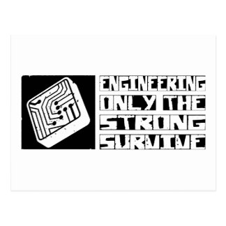 Engineering Survive Postcard