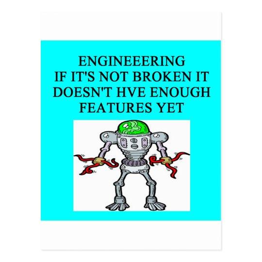 ENGINEERINGjoke Postcard