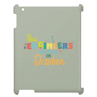 Engineers are born in October Zs52p Cover For The iPad