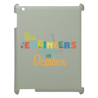 Engineers are born in October Zs52p iPad Cover
