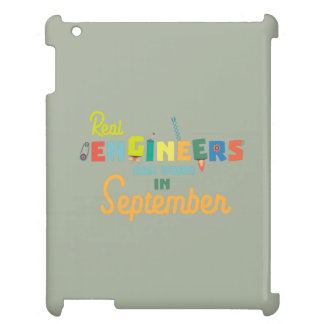 Engineers are born in September Zt500 iPad Case