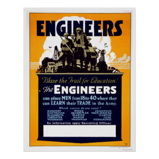 Engineers Blaze the Trail for Education! Poster