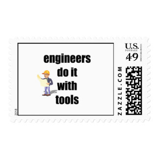 engineers do it with tools postage stamp