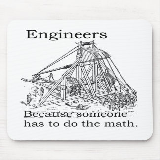 Engineers Trebuchet Mouse Pad