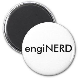 engiNERD 2 Inch Round Magnet