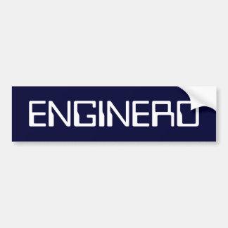 ENGINERD BUMPER STICKER