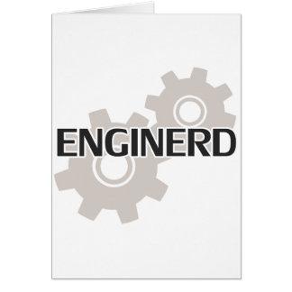 Enginerd Engineer Nerd Card