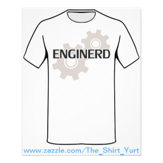 Enginerd Engineer Nerd Flyer