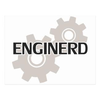 Enginerd Engineer Nerd Postcard
