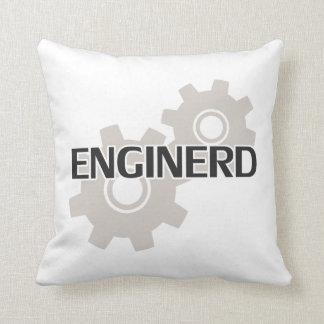 Enginerd Engineer Nerd Throw Pillow