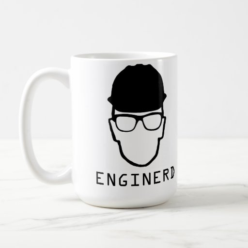 Enginerd engineering nerd mug