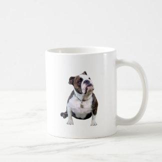 Engish Bulldog - brown and white Coffee Mug