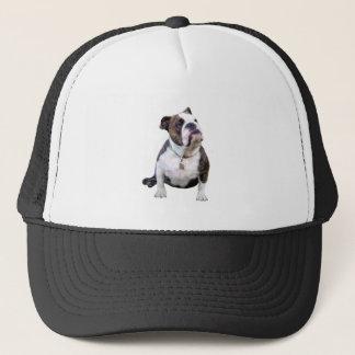 Engish Bulldog - brown and white Trucker Hat