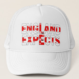 England 1966 world cup trucker hat
