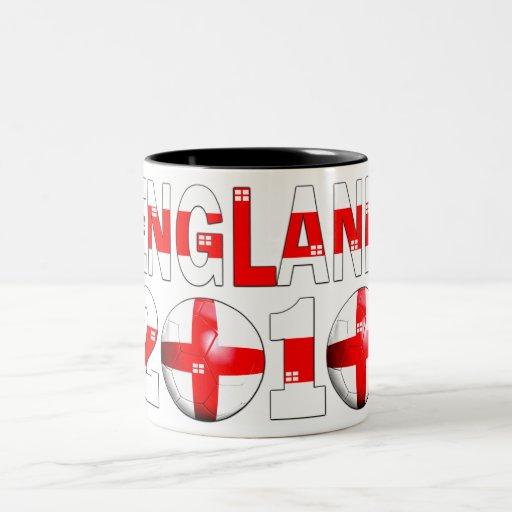 England 2010 coffee mug