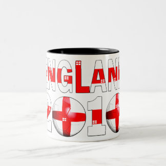 England 2010 Two-Tone coffee mug
