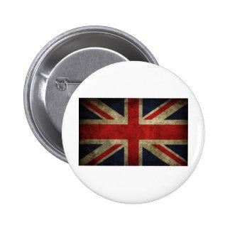 England 2 Inch Round Button