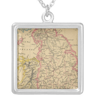 England 4 silver plated necklace