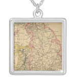 England 4 square pendant necklace