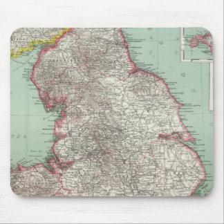 England 5 mouse pad