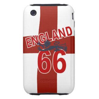 ENGLAND 66 Retro design Tough iPhone 3 Case