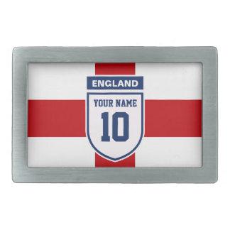 England Allegiance Fans - Customizable Name Number Belt Buckle