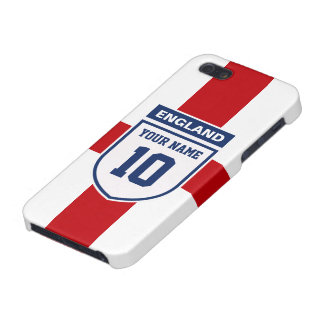 England Allegiance Fans - Customizable Name Number Cases For iPhone 5