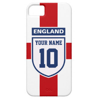 England Allegiance Fans - Customizable Name Number iPhone 5 Cases