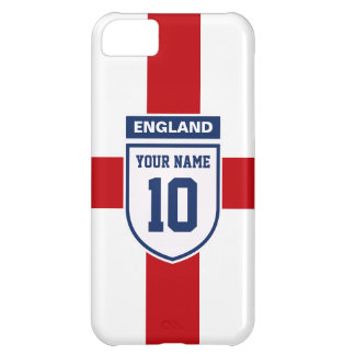 England Allegiance Fans - Customizable Name Number iPhone 5C Cover
