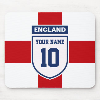 England Allegiance Fans - Customizable Name Number Mouse Pad
