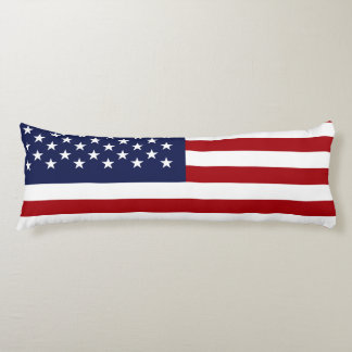 England and American Flag Body Pillow