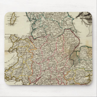 England and Wales 2 Mouse Pad