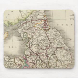 England and Wales 3 Mouse Pad