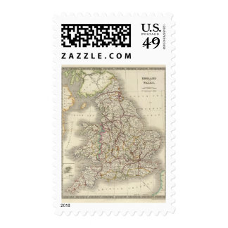 England and Wales 3 Postage Stamp