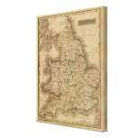 England and Wales 4 Canvas Print