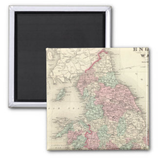 England and Wales 5 Magnet