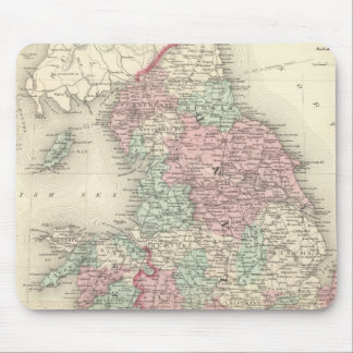 England and Wales 5 Mouse Pad