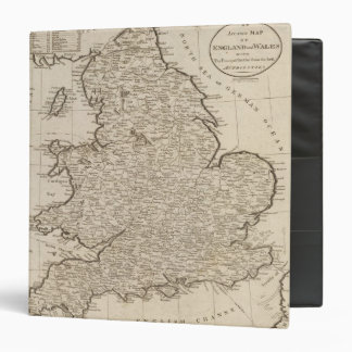 England and Wales 6 Vinyl Binder