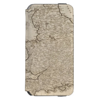 England and Wales 6 iPhone 6/6s Wallet Case