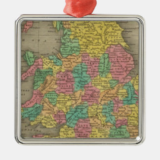 England And Wales Ornament