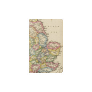 England and Wales Pocket Moleskine Notebook