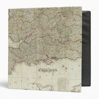 England and Wales Southern section 3 Ring Binder