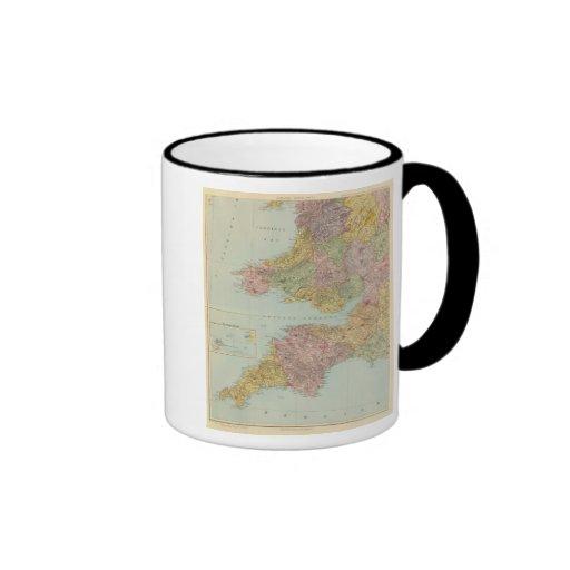 England and Wales Southwest Mug