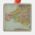England and Wales Southwest Christmas Tree Ornament