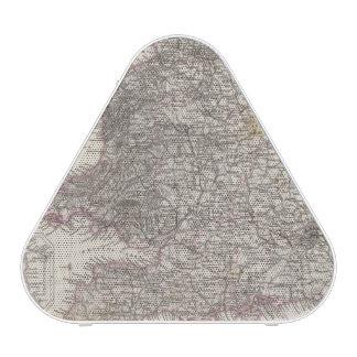England Atlas Map Speaker