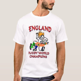 England beating Australia at rugby T-Shirt