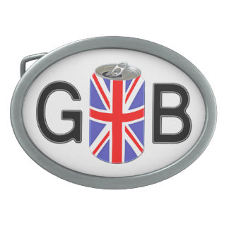 England Beer Oval Belt Buckle
