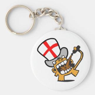 England Beermonkey Keychains